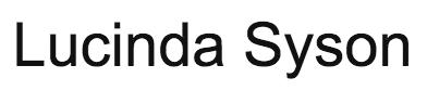 Lucinda Syson Casting